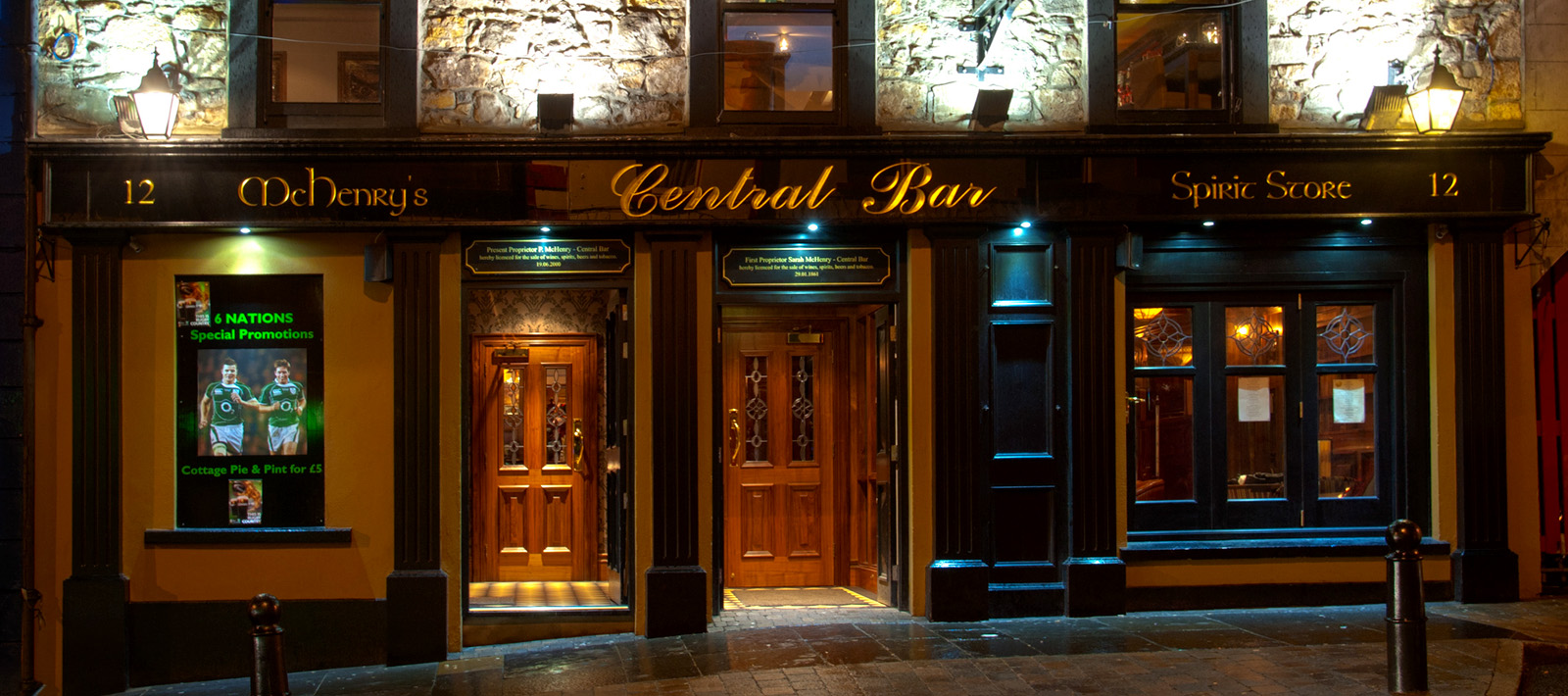 Central Bar and Restaurant Ballycastle